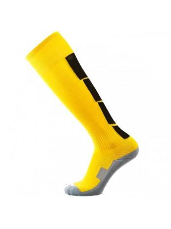 купить Футбольные гетры Europaw CTM-003 желто-черные с трикотажным носком
