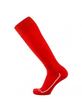 купить Футбольные гетры Europaw красные с трикотажным носком