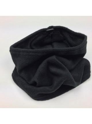 Горловик флисовый без логотипа черный