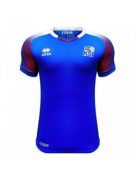 Детская футбольная форма национальной сборной Исландия домашняя 2018