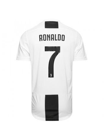 купить Детская футбольная форма Ювентус RONALDO 7 домашняя  2018-2019