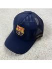 купить Кепка 19-20 Барселона с сеточкой темно-синяя