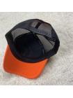 купить Кепка 19-20 Челси с сеточкой черно-оранжевая