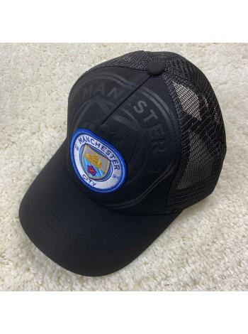 купить Кепка 19-20 Манчестер Сити с сеточкой черная
