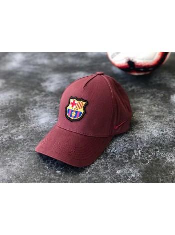 купить Кепка / Бейсболка Барселона бордовая 2020