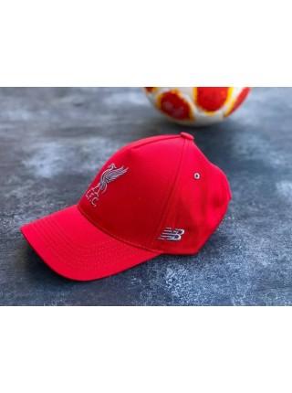 Кепка / Бейсболка Ливерпуль красная 2020