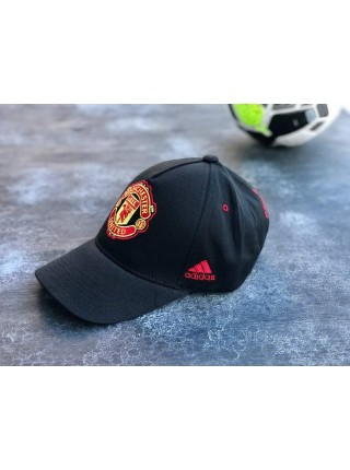 Кепка / Бейсболка Манчестер Юнайтед черная 2020