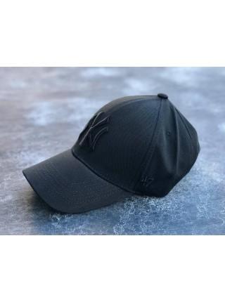 Кепка / Бейсболка NY Yankees черная