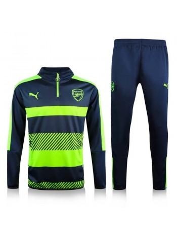 купить Тренировочный костюм Арсенал зеленый 2017-2018