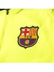 купить Детский тренировочный костюм Барселона салатовый 2018-2019