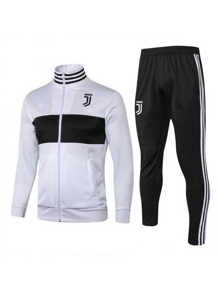 Детский тренировочный костюм Ювентус черно-белый 2018-2019