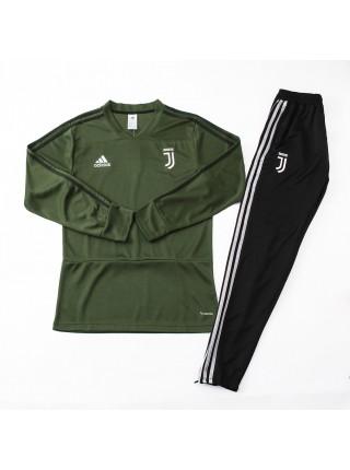 Тренировочный костюм Ювентус зеленый 2018-2019