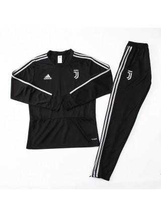 Детский тренировочный костюм Ювентус черный 2018-2019
