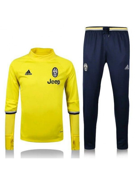 Тренировочный костюм Ювентус желтый 2016-2017