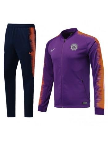 купить Тренировочный костюм Манчестер Сити фиолетово-черный 2018-2019