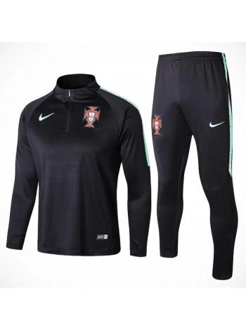купить Тренировочный костюм Португалия черный 2018-2019