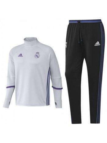 купить Тренировочный костюм Реал Мадрид черно-синий 2016-2017