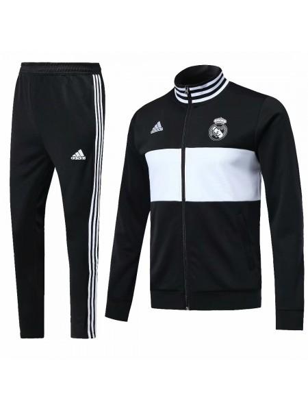 Тренировочный костюм Реал Мадрид черный 2018-2019