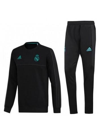 купить Тренировочный костюм Реал Мадрид черный 2017-2018