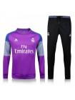 купить Тренировочный костюм Реал Мадрид фиолетовый 2017-2018