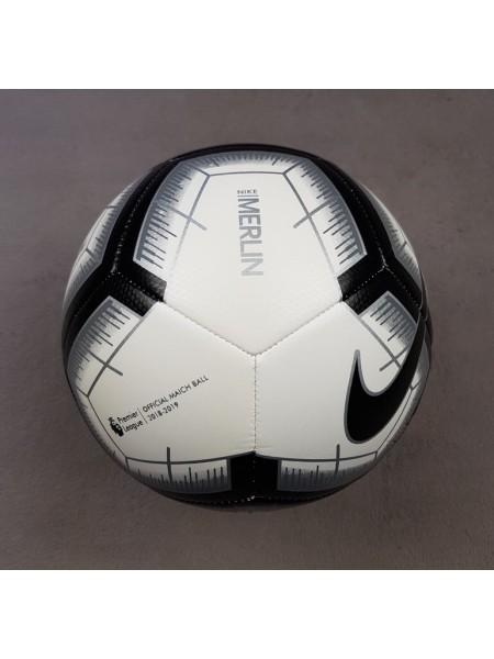 Футбольный мяч АПЛ черный 2018-2019
