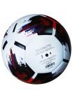 купить Мяч футбольный OMB Ball бело-черно-красный размер 5