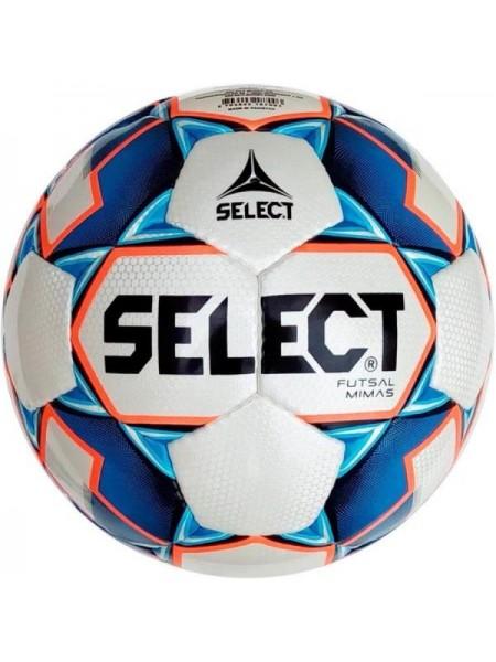 Футзальный мяч Select Futsal Mimas NEW IMS бело-сине-оранжевый