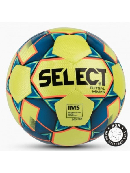 Футзальний мяч Select Futsal Mimas NEW IMS желто-синий