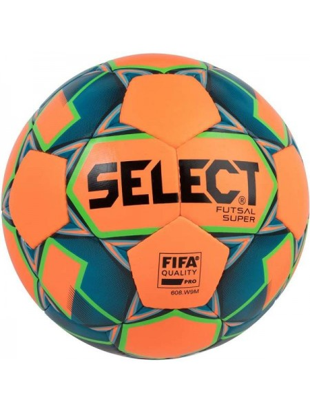 Футзальный мяч Select Futsal Super FIFA NEW IMS оранжево-синий