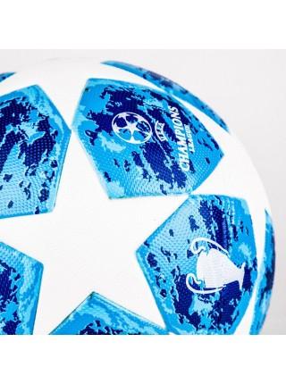 Футбольный мяч Лиги Чемпионов 2018-2019 синий