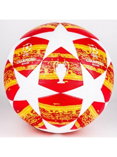 Футбольный мяч Лиги Чемпионов 2018-2019 оранжевый