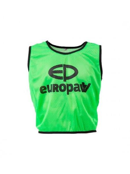 Манишка Europaw logo 3/4 зеленая