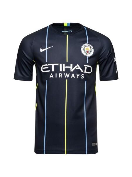 Футбольная форма Манчестер Сити выездная 2018-2019