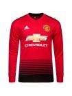 купить Футбольная форма Манчестер Юнайтед домашняя 2018-2019 длинный рукав