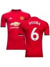 купить Детская футбольная форма Манчестер Юнайтед ПОГБА 6 домашняя 2017-2018