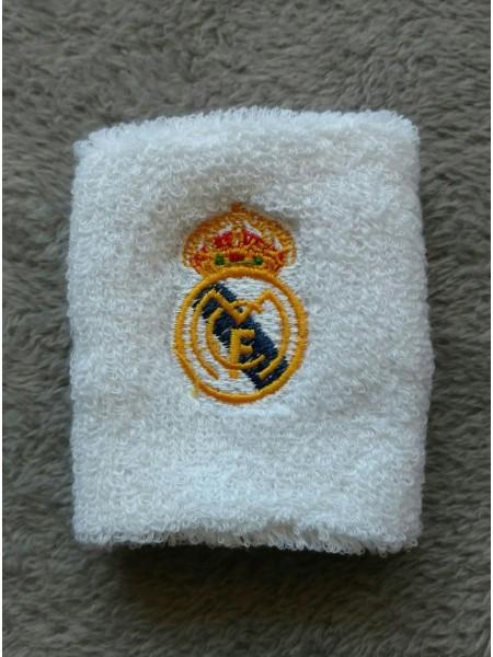Напульсник Реал Мадрид белый