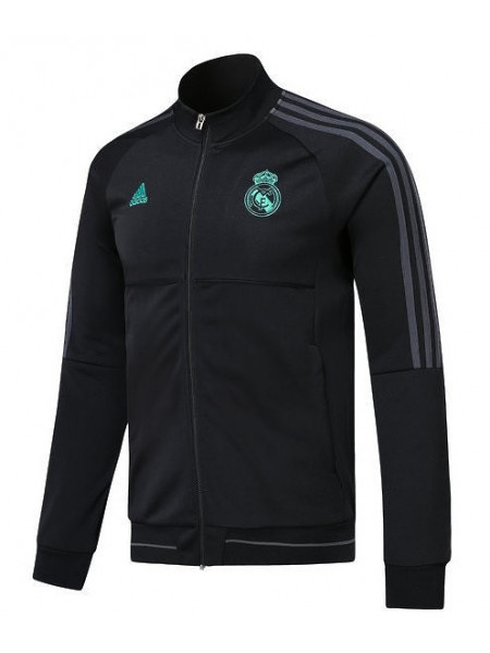 Олимпийка Реал Мадрид черная 2017-2018