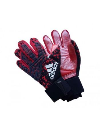 купить Вратарские перчатки Adidas 120 красно-черные