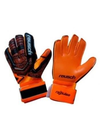 купить Вратарские перчатки Reusch М1 replica оранжево-черные