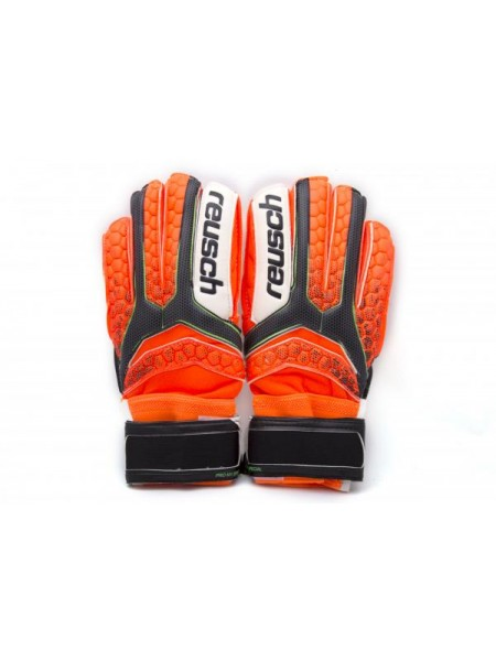 Вратарские перчатки Reusch М1 replica оранжевые