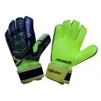 Вратарские перчатки Reusch М1 replica салатово-черные