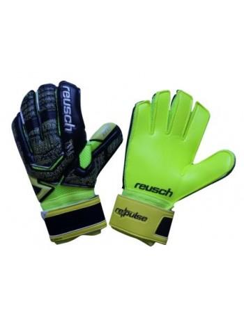 купить Вратарские перчатки Reusch М1 replica салатово-черные