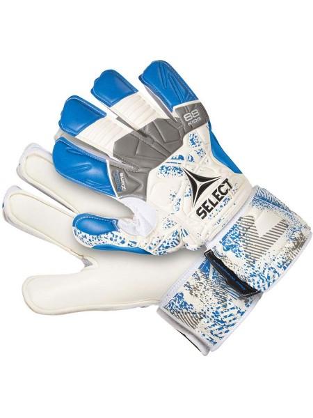Детские вратарские перчатки SELECT GOALKEEPER GLOVES 88 KIDS (304) бело-синие