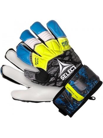 купить Перчатки вратарские SELECT 55 EXTRA FORCE GRIP (335) сине-серо-желтые