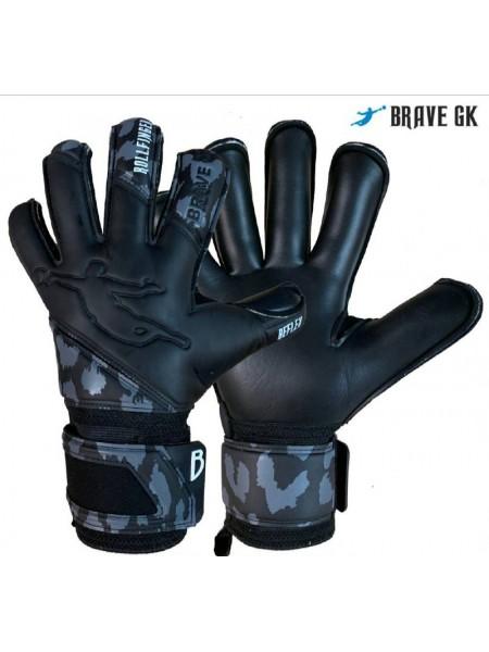 Перчатки вратарские BRAVE GK REFLEX черные
