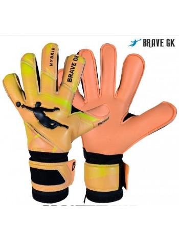 купить Детские вратарские перчатки BRAVE GK UNIQUE оранжевые