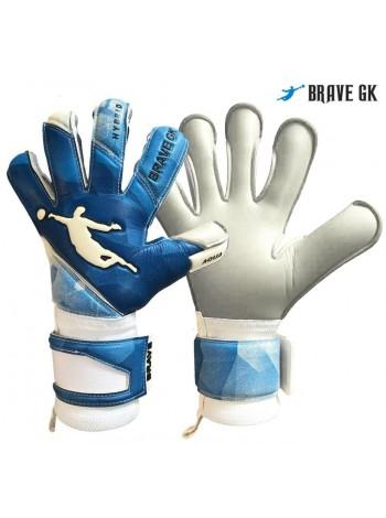 купить Перчатки вратарские BRAVE GK AQUA синие