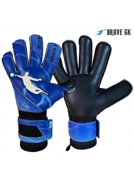 Перчатки вратарские BRAVE GK PHANTOME сине-черные