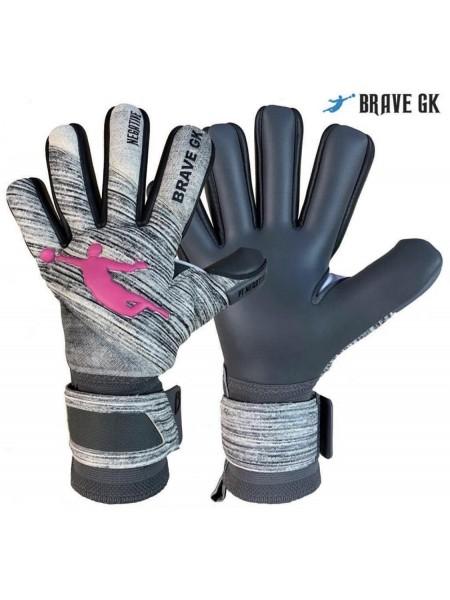 Перчатки вратарские BRAVE GK POWER TRAIN серые