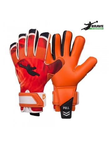купить Перчатки вратарские BRAVE GK CATALYST оранжевые